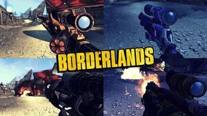 Borderlands 1 - All Pearlescent Weapons - Animations, Sounds & Effects
