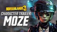 "Borderlands 3 - Moze Character Trailer ""The BFFs"""