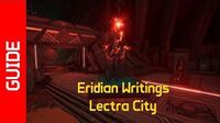 Lectra City Eridian Writings