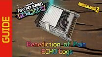 Benediction of Pain ECHO Logs