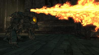 Sponx's fire attack