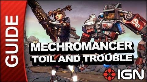 Borderlands 2 Mechromancer Walkthrough - Toil and Trouble - Part 14a