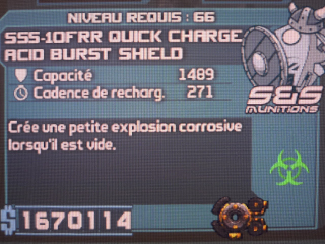 Acid Burst Shield