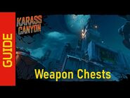 Karass Canyon Weapon Chests