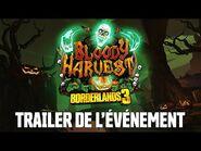 Borderlands 3 - Trailer Événement Récolte Sanglante