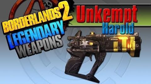 Borderlands 2 легендарные пушки - 12 Unkempt Harold(Взъерошенный Гарольд)