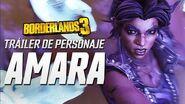 "Borderlands 3 - Tráiler de personaje de Amara ""Buscando pelea"""