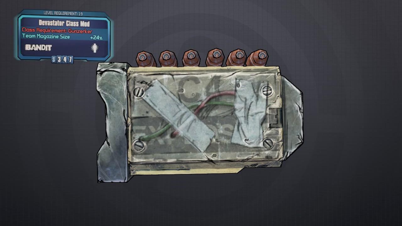 Devastator (class mod)