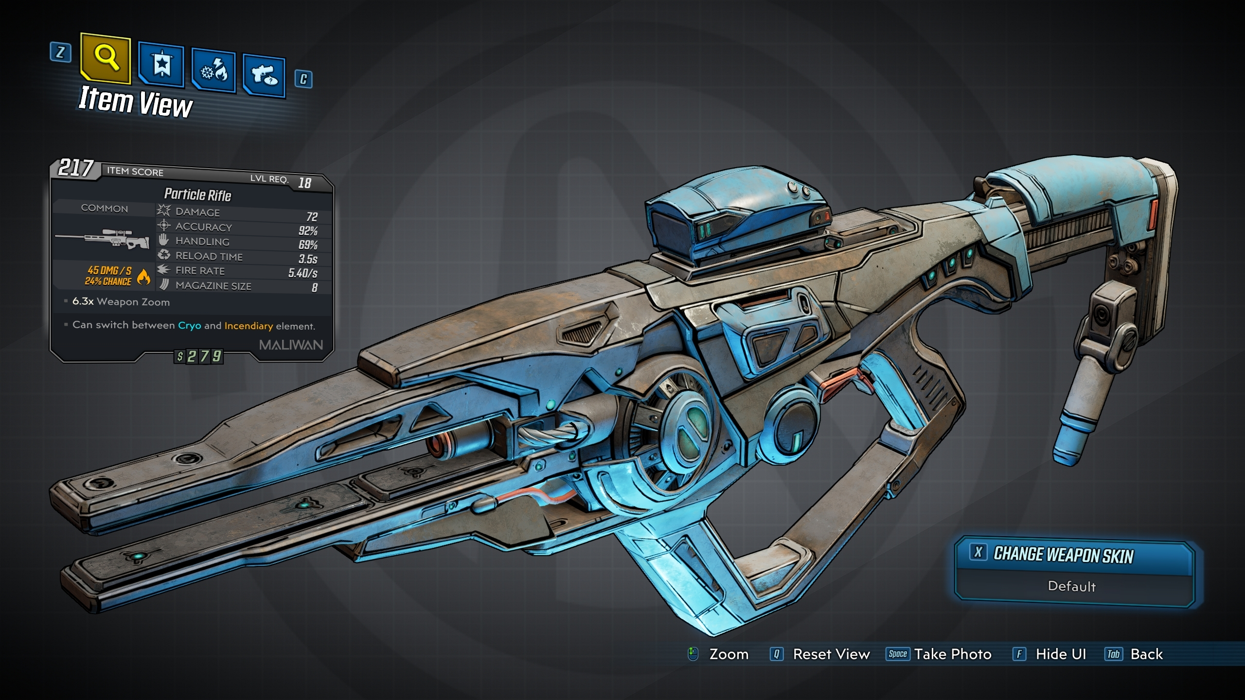 Particle Rifle