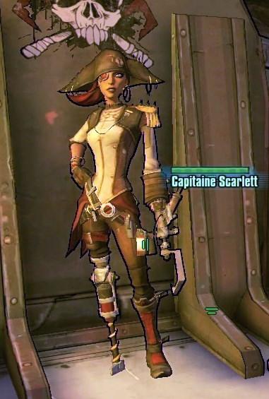 Capitaine Scarlett