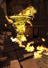 Witch Doctor Tornado Fire