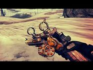 Borderlands 2 - Epic Jakobs Weapons - Animations & Sounds w- Slow-Motion