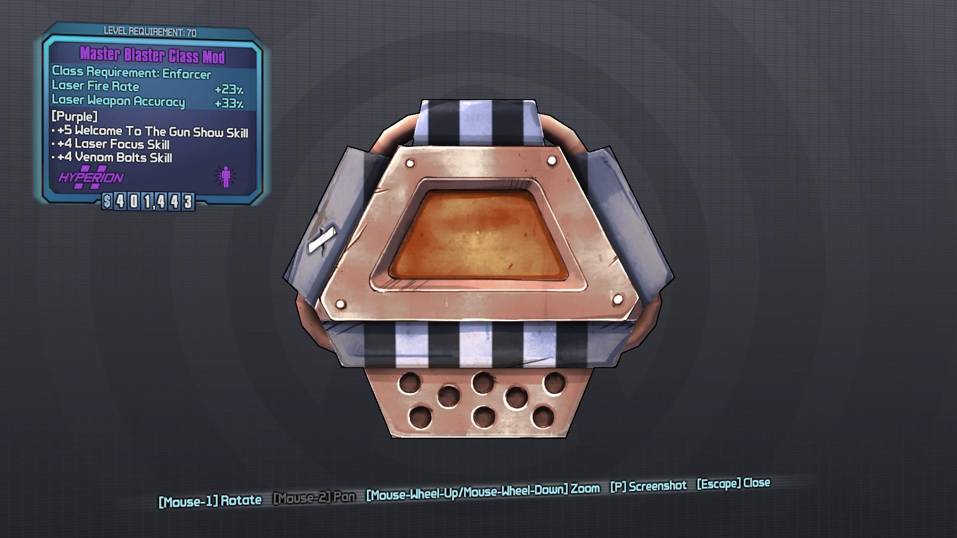 Blaster (class mod)