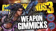 Borderlands 3 ALL New Weapon Manufacturer Gimmicks Revealed
