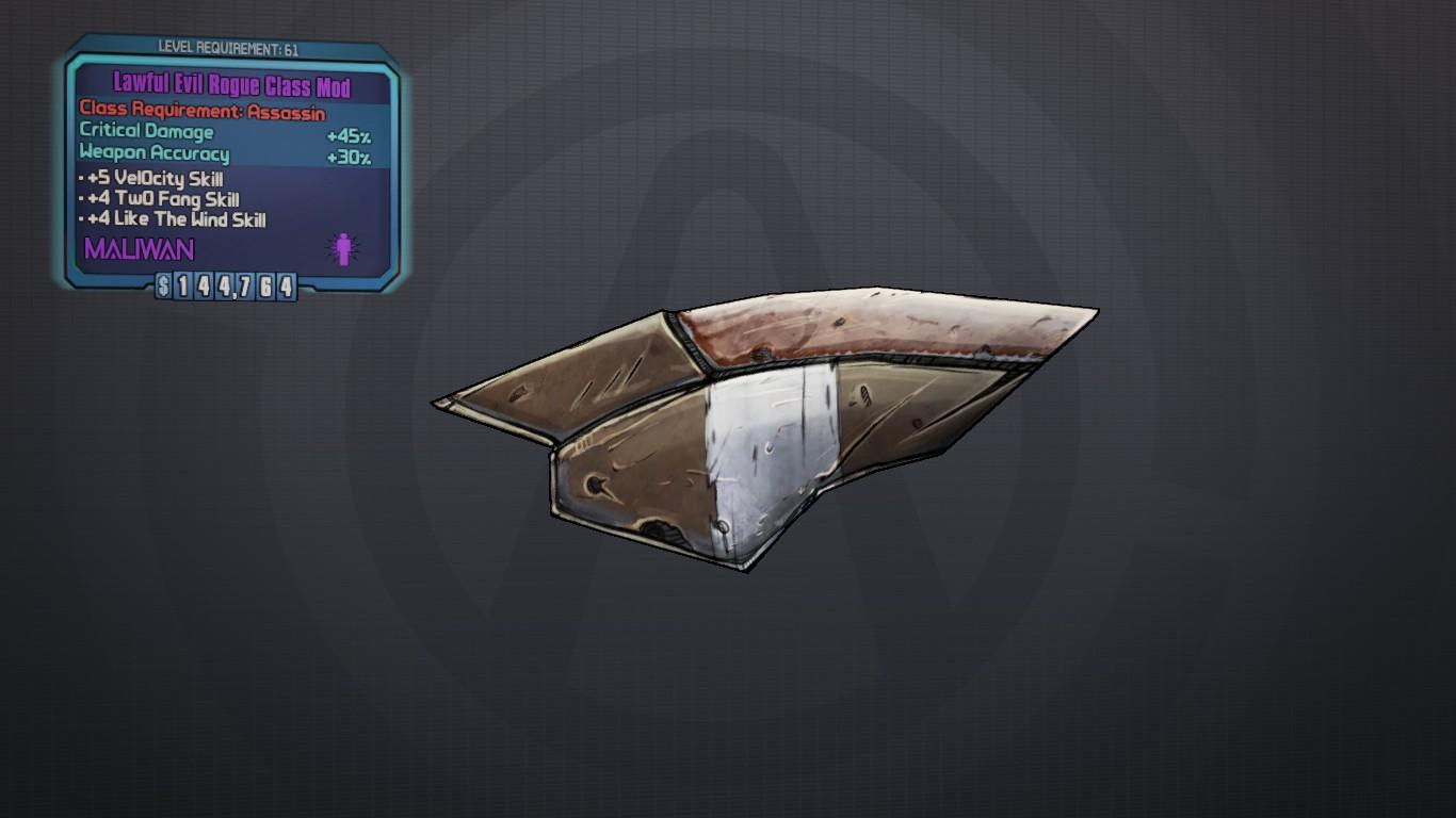 Rogue (class mod)