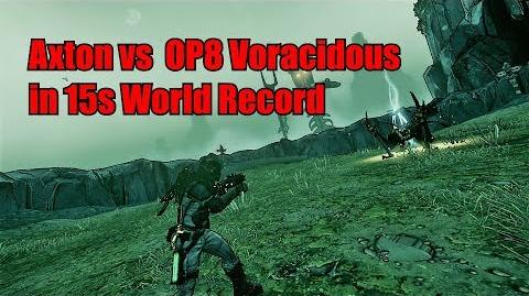 Axton vs OP8 Voracidous in 15 seconds -World Record-