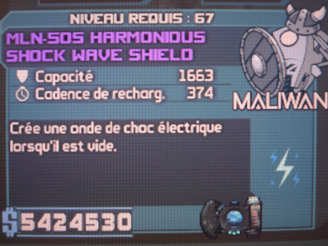 Shock Wave Shield