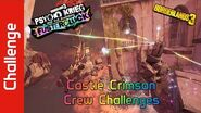 Castle Crimson Crew Challenges