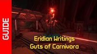 Guts of Carnivora Eridian Writings