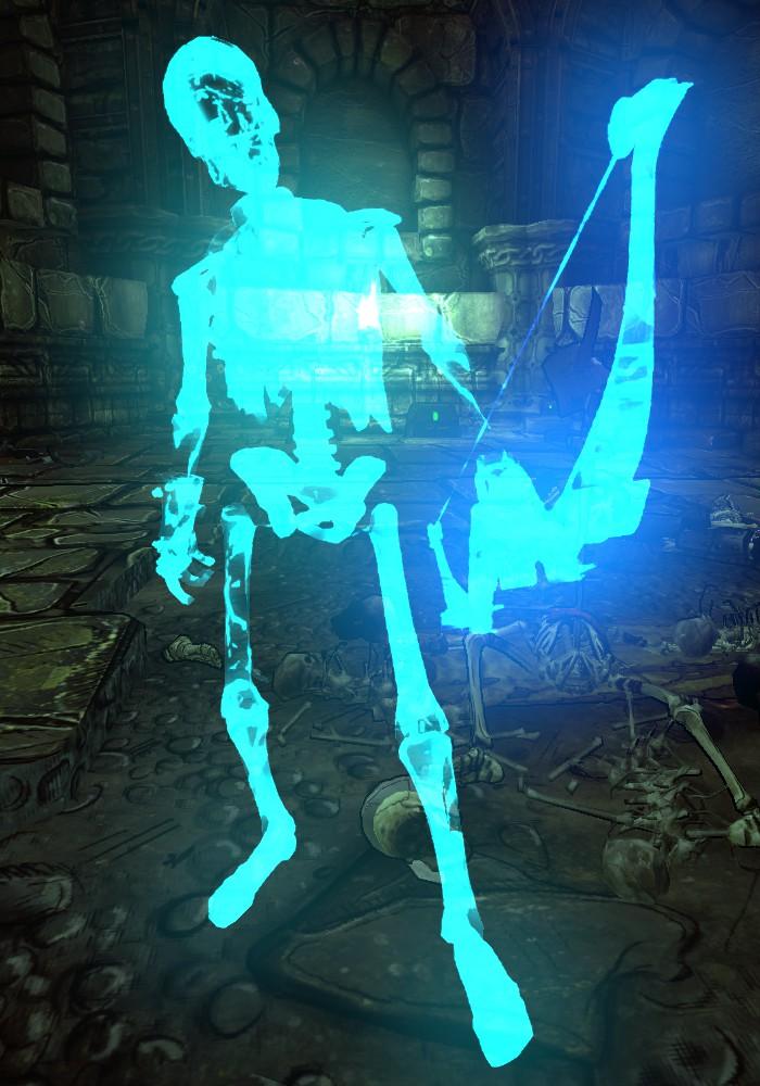 Enchanted Skeleton Archer