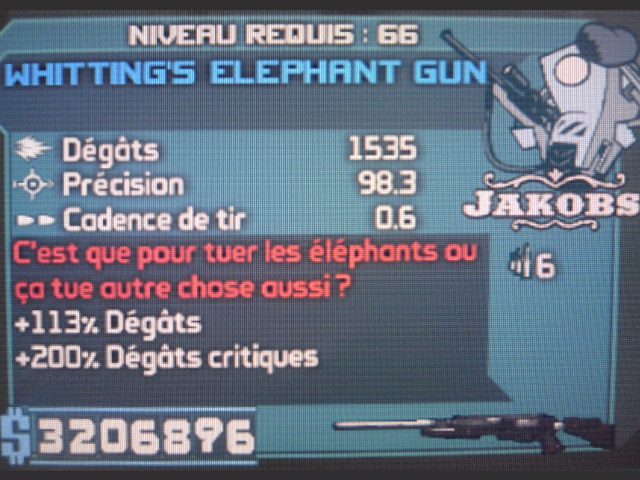 Whitting's Elephant Gun