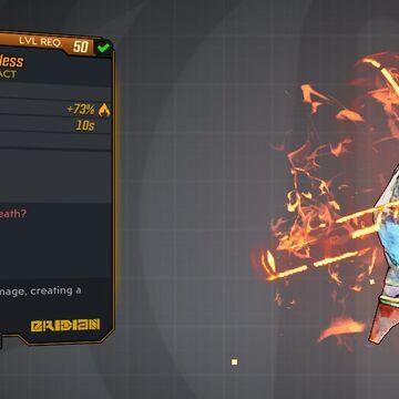 Borderlands 3 Legendary Artifact in game mail or drop Toxic Revenger Deathless Level 50