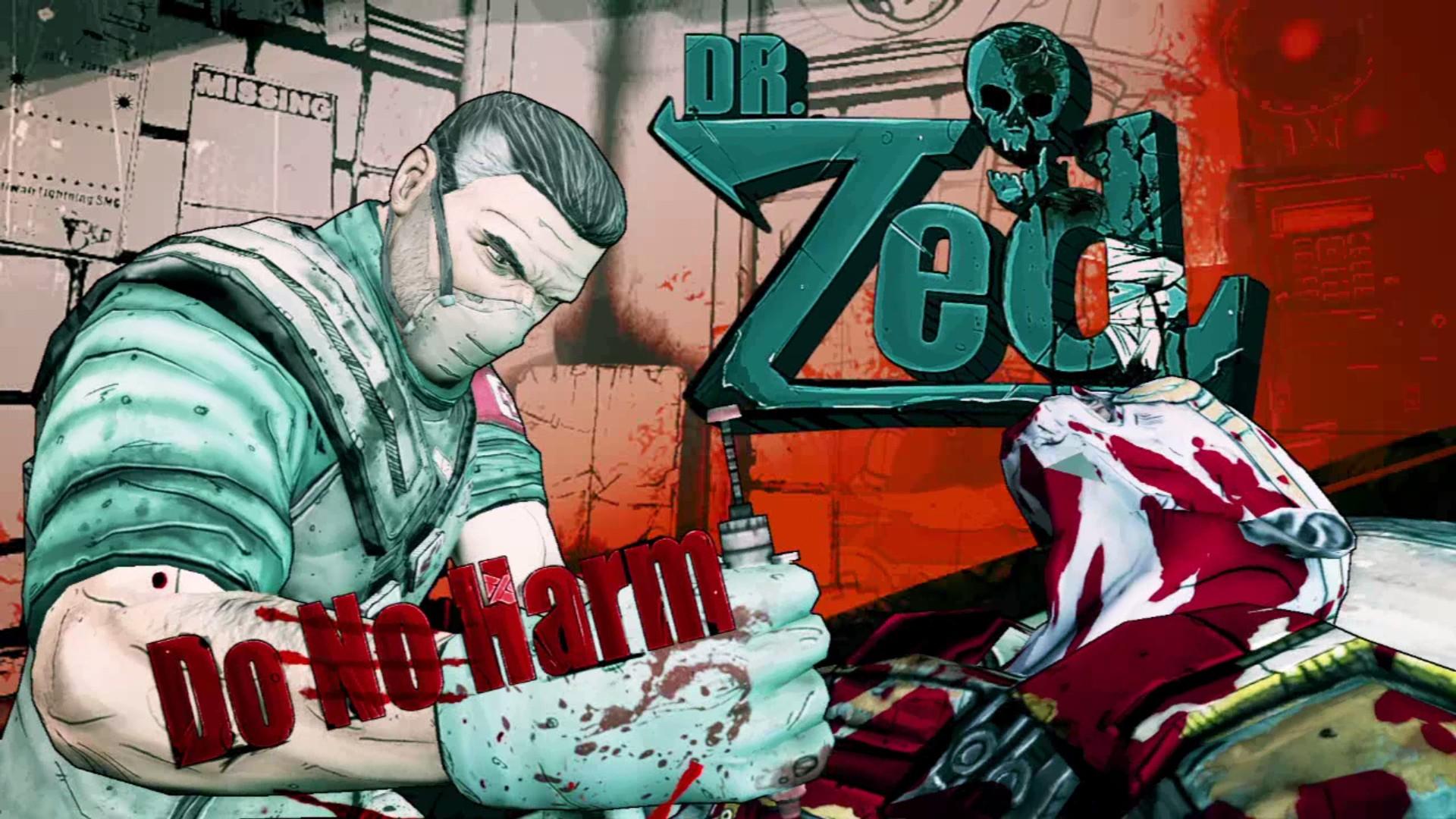 Dr Zed Borderlands Wiki Fandom