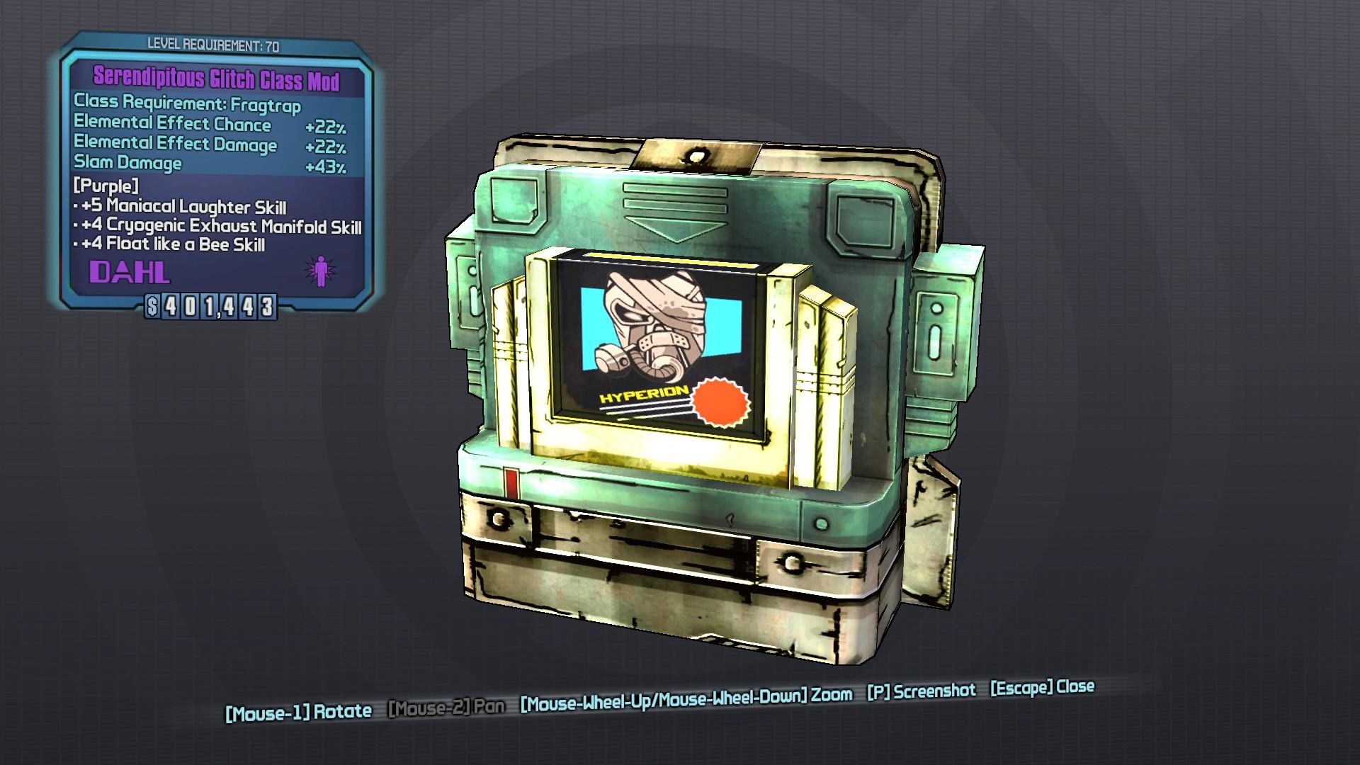 Glitch (class mod)