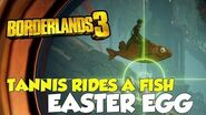 Borderlands 3 Tannis Rides A Fish Easter Egg