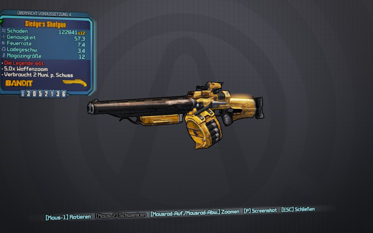 Sledge's Shotgun (Borderlands 2)