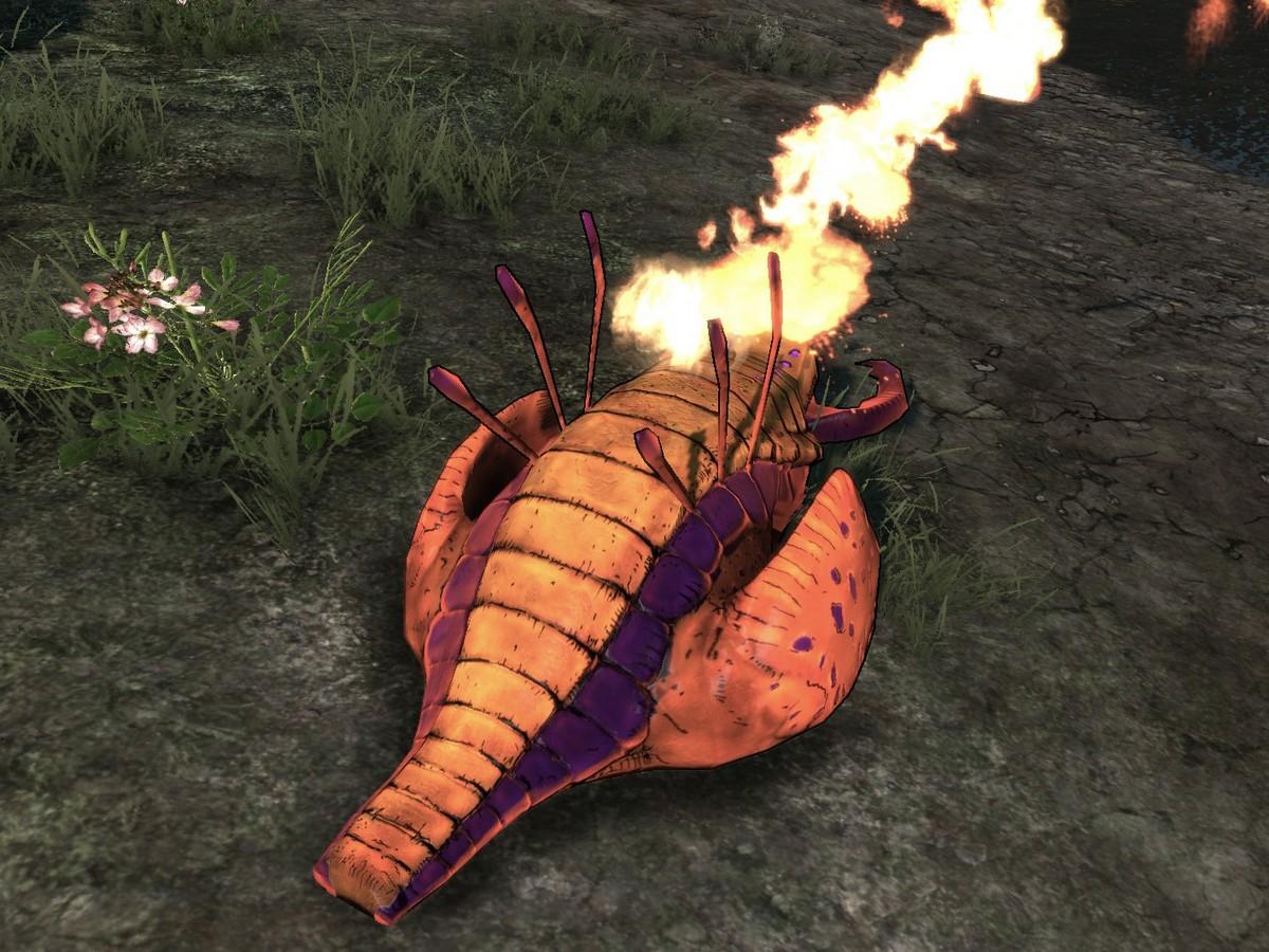 Badass Fire Crawler