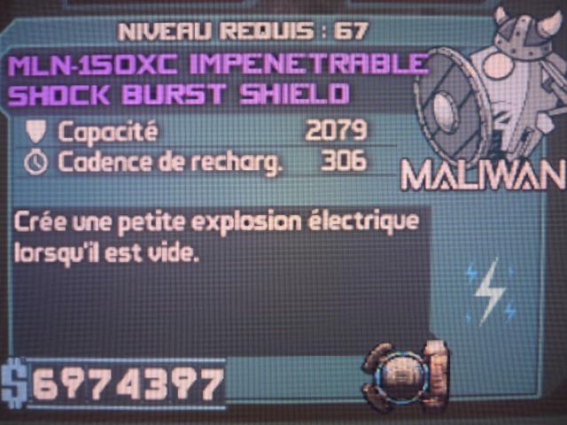 Shock Burst Shield