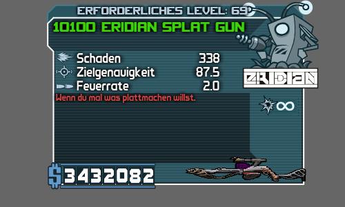 Eridian Splat Gun