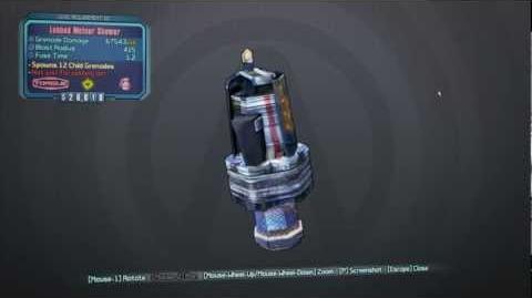 Borderlands 2 Torgue DLC - Meteor Shower Grenade