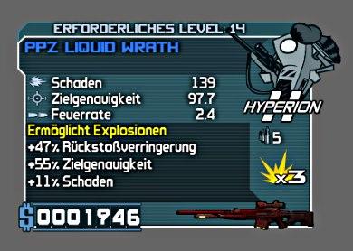 PPZ Liquid Wrath