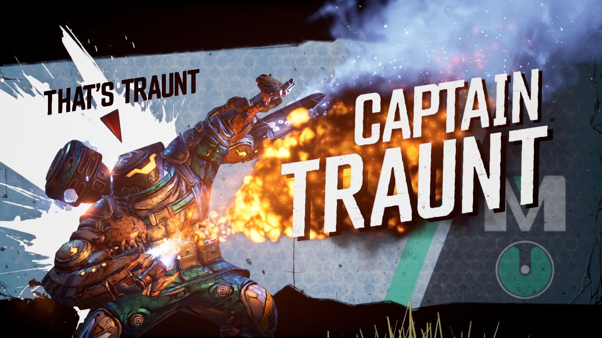 Captain Traunt