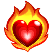 T FX Heart Event Flame