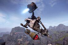 Buzzard Slab Bomb run 2