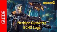 Meridian Outskirts ECHO Recordings