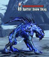 Shock Spitter Snow Skag