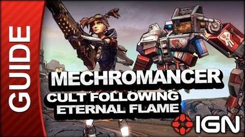 Cult Following Eternal Flame - Mechromancer Walkthrough