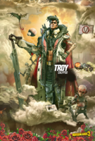 Troy Mural