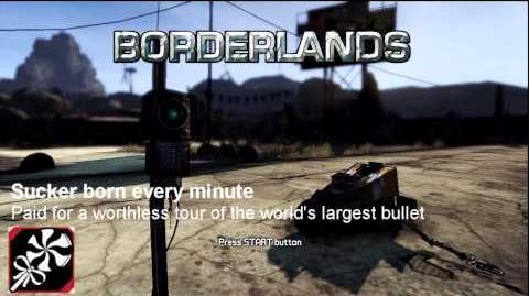 Trophée Borderlands Chaque minute un gogo s'éveille