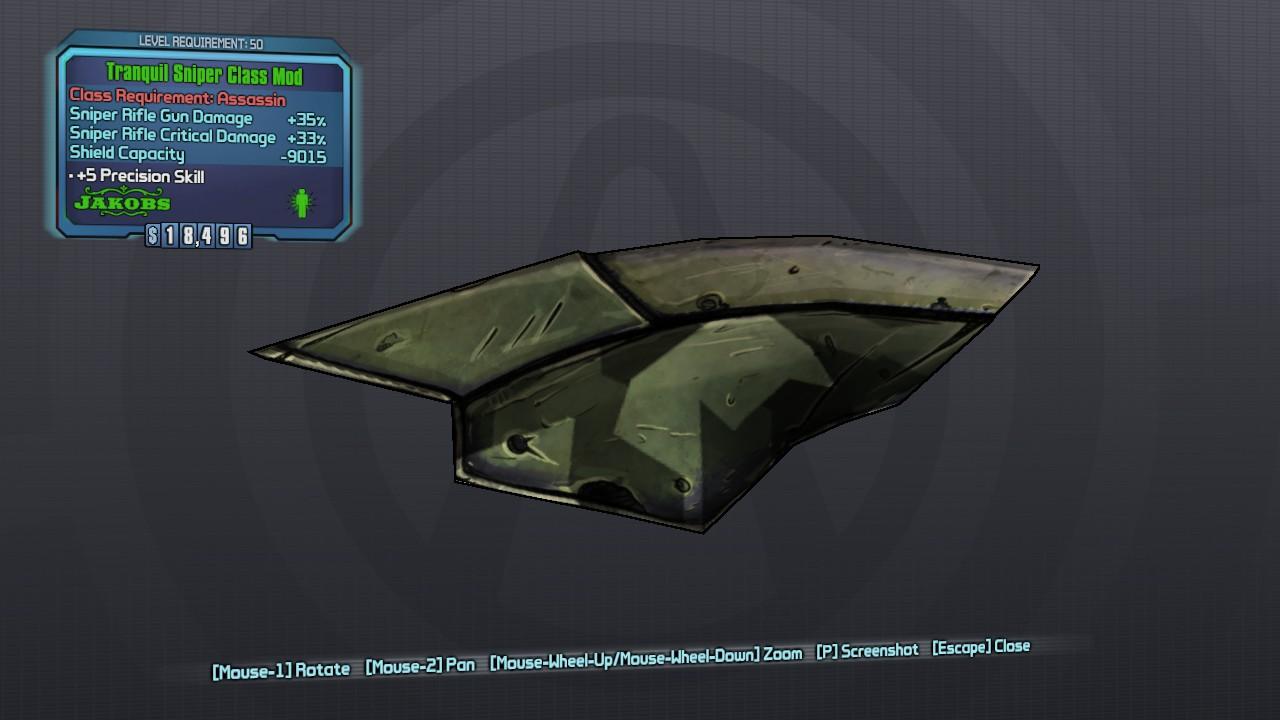 Sniper (class mod)