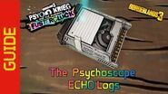The Psychoscape ECHO Logs