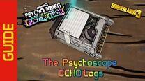 The Psychoscape ECHO Logs
