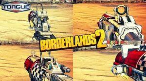 Borderlands 2 - Epic Torgue Weapons - Animations & Sounds w Slow Motion