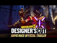 Borderlands 3- Designer's Cut - Arms Race Official Trailer