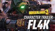 """Borderlands 3 - FL4K Character Trailer """"The Hunt"""""""