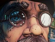 BL2 Hammerlock's Robotic Eye